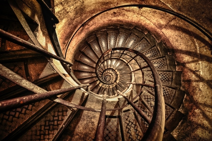 Great Impossible Spiral Staircase Photo 745