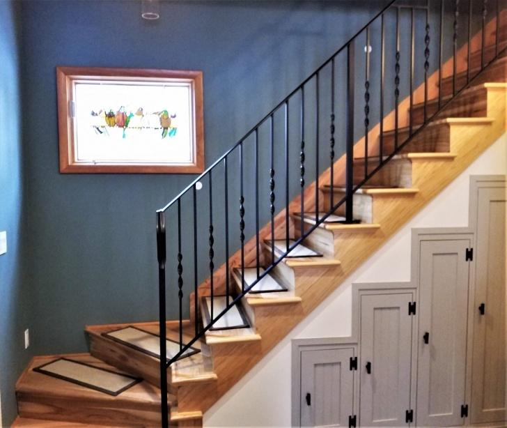Great Iron Stair Railing Image 712