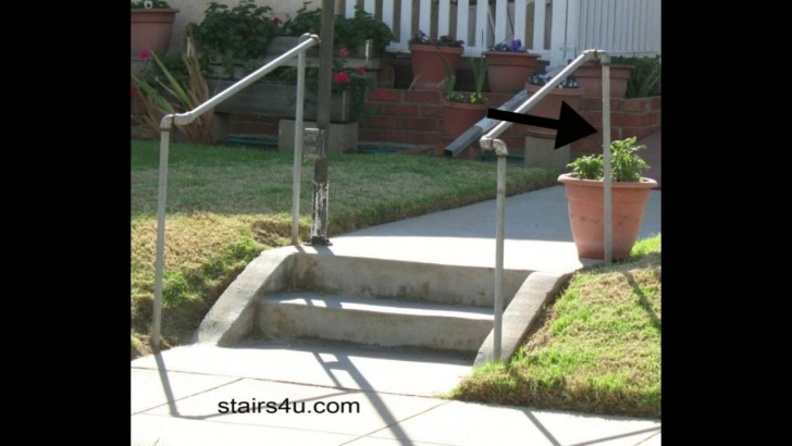 Great Metal Handrails For Outdoor Steps Photo 584