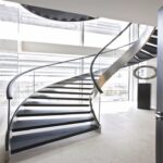 Great Modern Curved Staircase Image 811