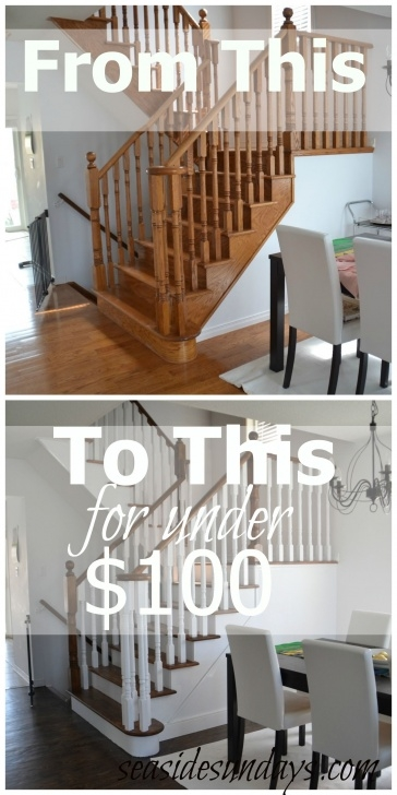 Great Refinish Stair Railing Image 349