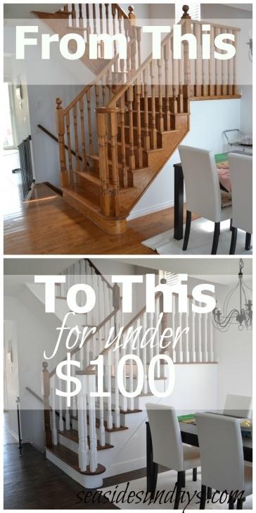 Great Refinishing Wood Banister Image 750