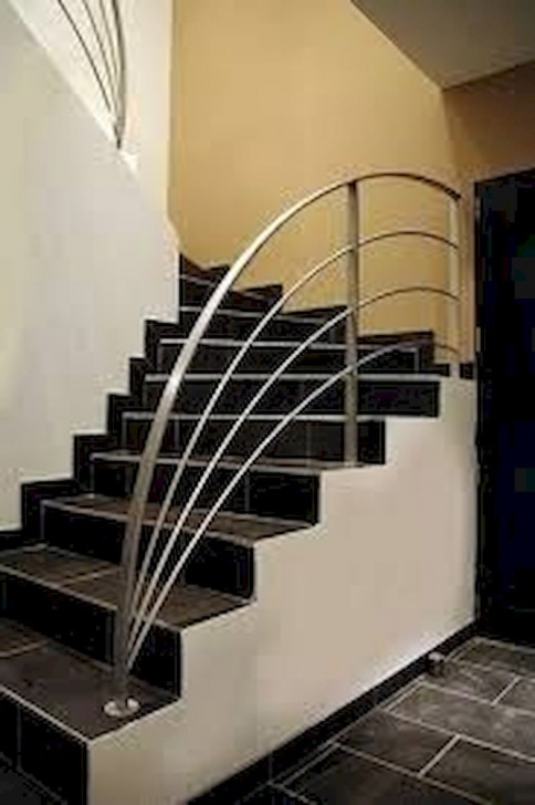 Great Stairs Railing Designs In Steel Photo 563