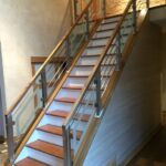 Great Steps Railing Designs With Glass Image 398