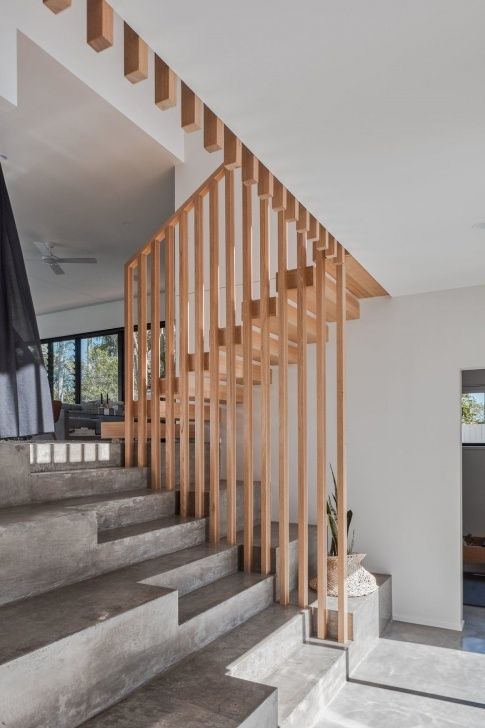Great Wood And Concrete Stairs Image 284