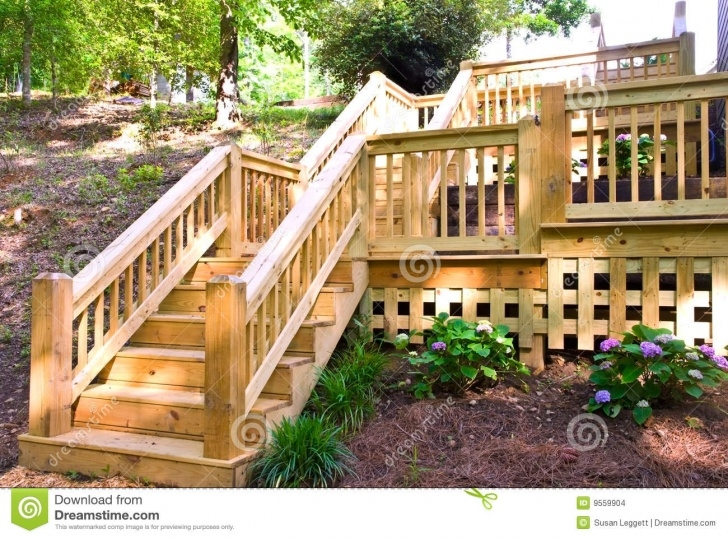 Great Wood Deck Steps Image 773