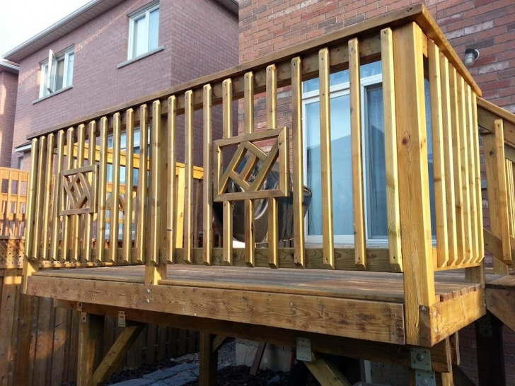 Great Wood Handrail For Deck Picture 626