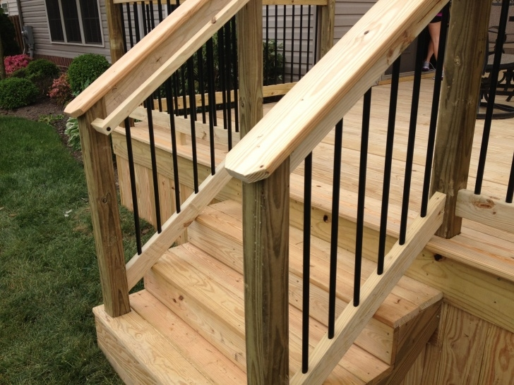 Great Wood Handrail For Deck Picture 728