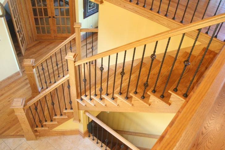 Great Wood Stair Railing Picture 558