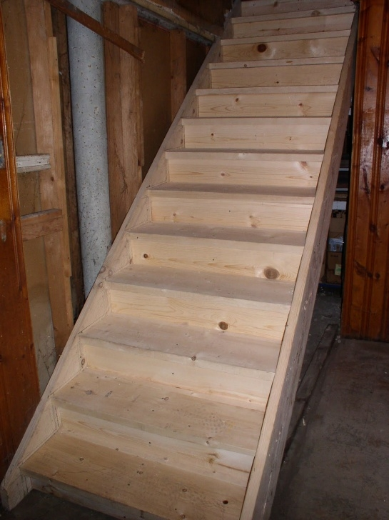 Ideas for Replacing Basement Stairs Photo 781