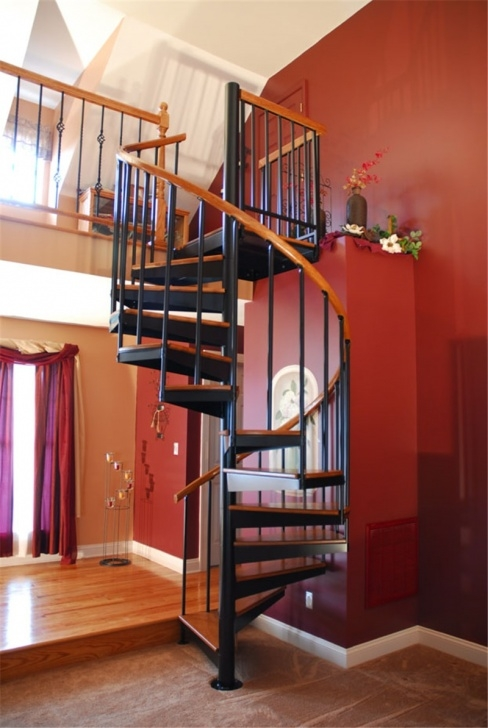 Ideas for Spiral Staircase Handrail Image 097