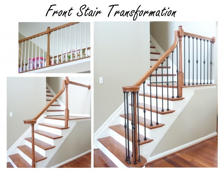 Ideas for Updating Staircase Spindles Photo 850