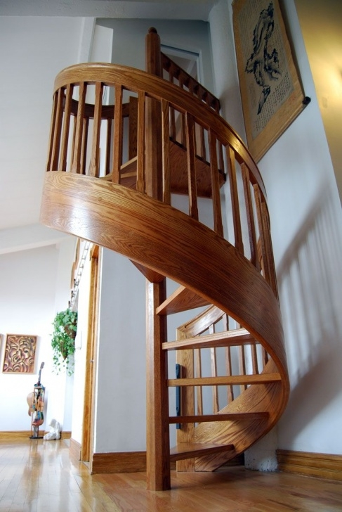 Ideas for Wooden Spiral Staircase Image 378