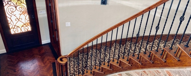 Ideas for Wrought Iron Staircase Spindles Photo 162
