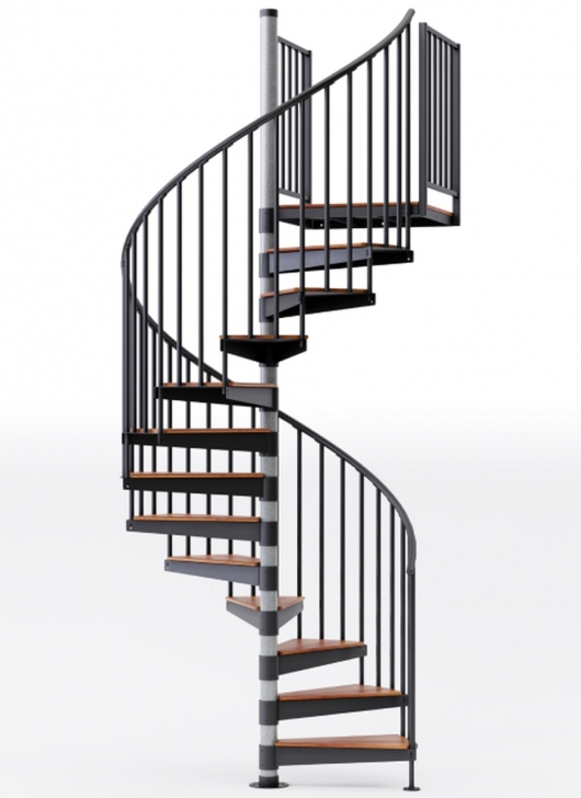 Imaginative Black Spiral Staircase Image 412