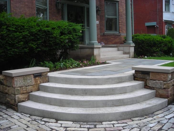 Imaginative Concrete Steps Design Photo 159
