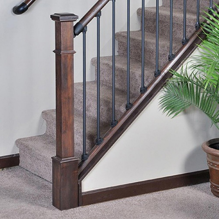 Imaginative Craftsman Style Newel Post Picture 180