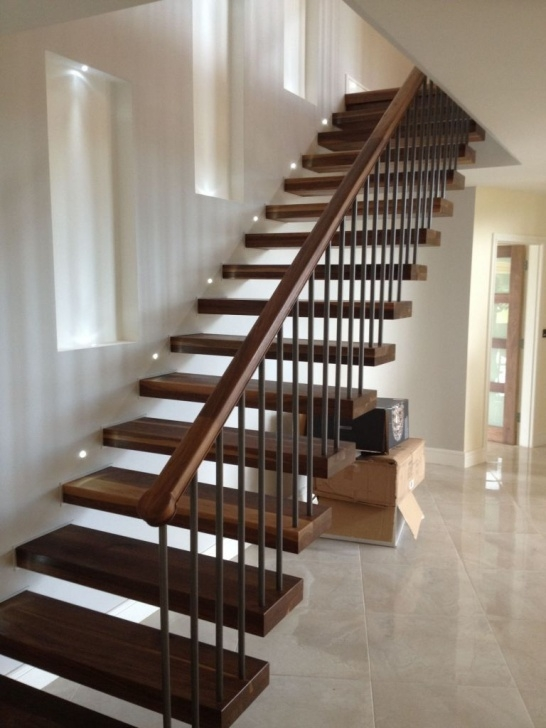 Imaginative Floating Wood Stairs Picture 883