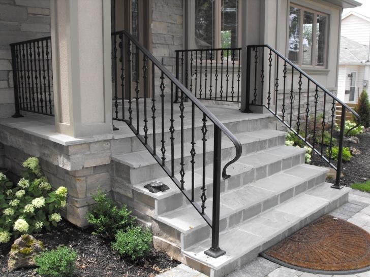 Imaginative Front Door Stairs Design Photo 039