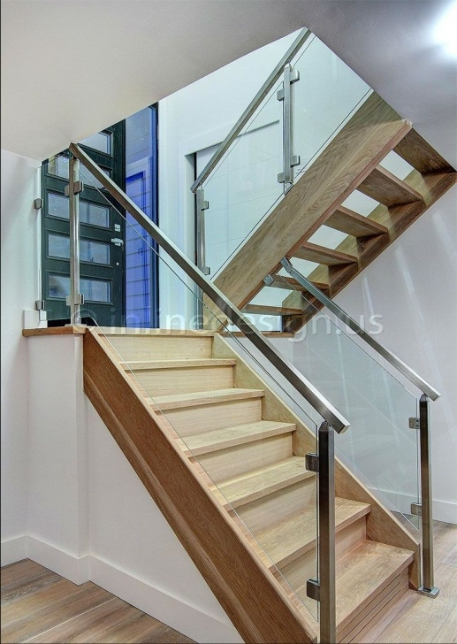 Imaginative Glass Handrails For Stairs Photo 039