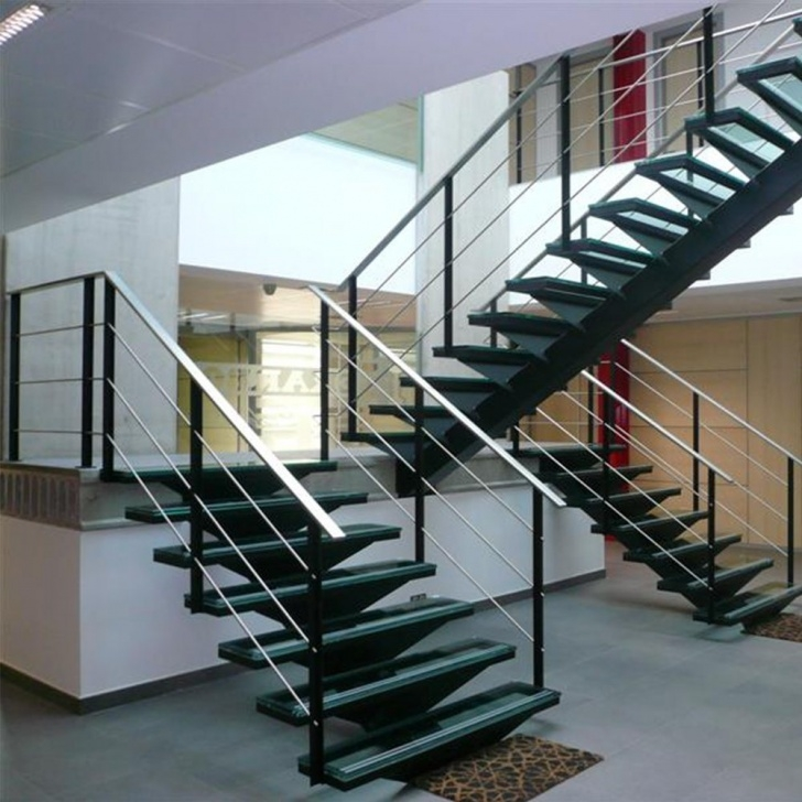 Imaginative Modern Glass Staircase Picture 962