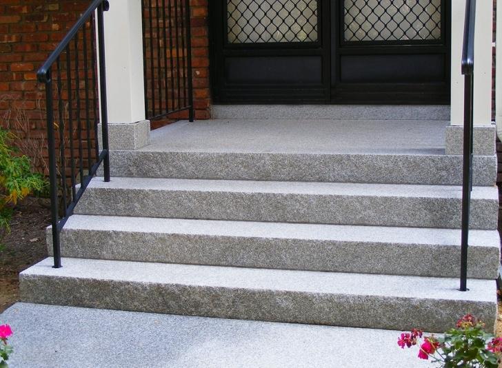 Imaginative Outdoor Granite Steps Photo 442