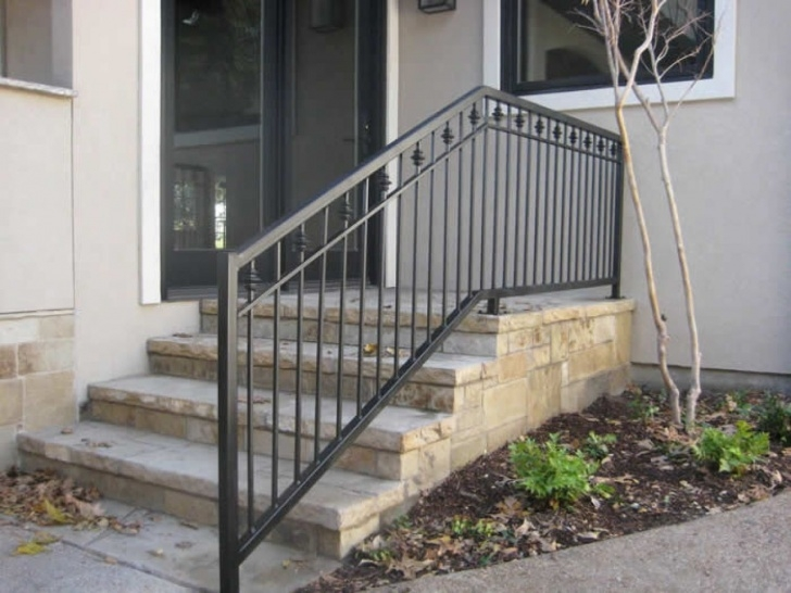 Imaginative Outdoor Metal Stair Railing Photo 615