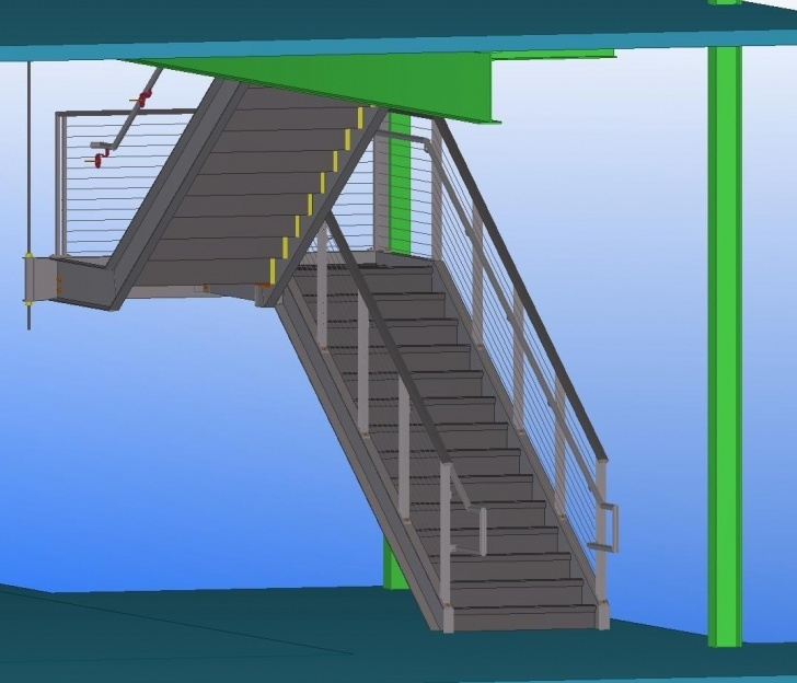 Imaginative Prefabricated Metal Stairs Picture 503