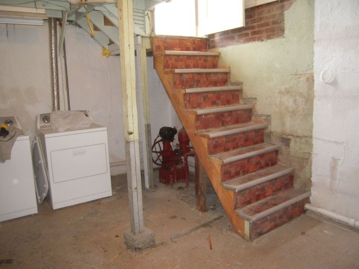 Imaginative Reconfiguring Basement Stairs Image 226