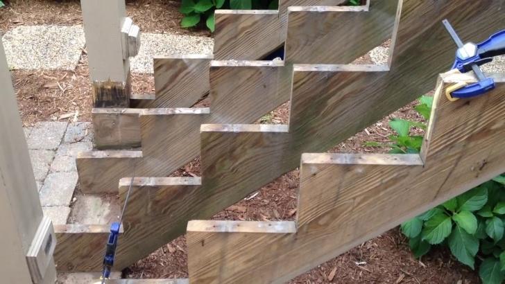 Imaginative Repairing Wooden Stairs Photo 285