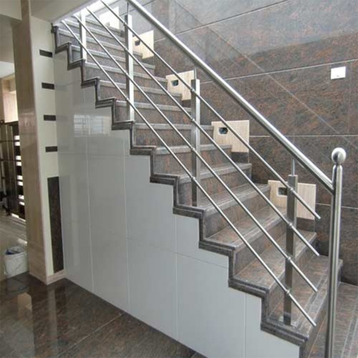 Imaginative Stairs Railing Designs In Steel Picture 848