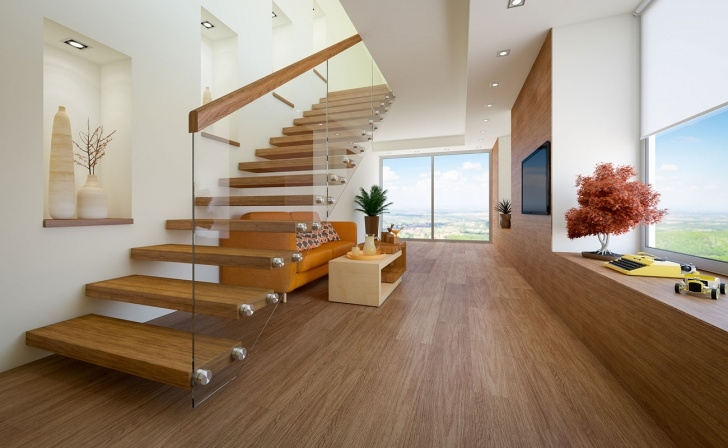 Imaginative Style Of Stairs Inside House Image 793
