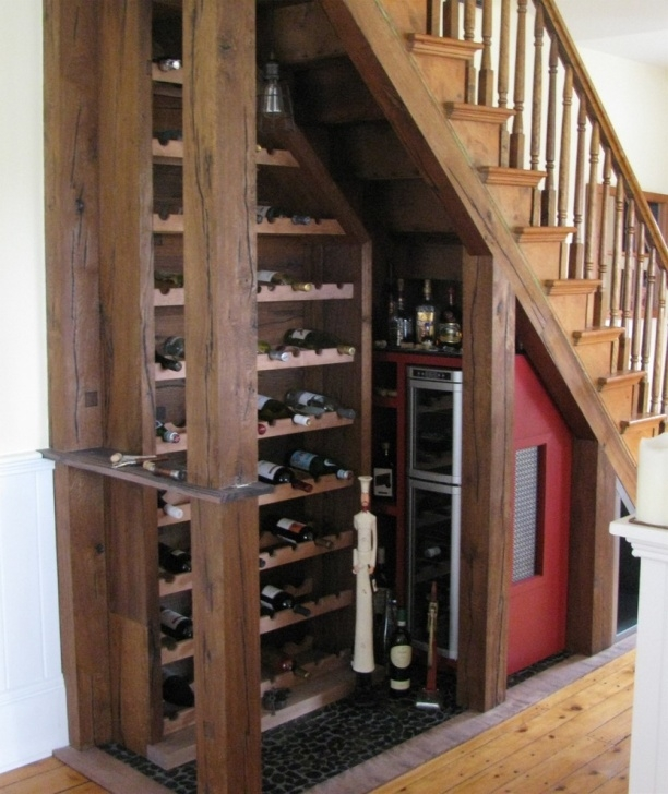 Imaginative Wine Bar Design Under Stairs Picture 026
