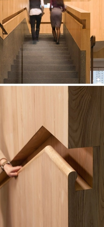 Imaginative Wooden Handrail Design Photo 223