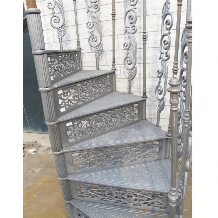 Innovative Cast Aluminium Spiral Staircase Picture 735