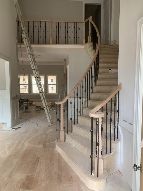 Innovative Curved Stair Railing Image 051