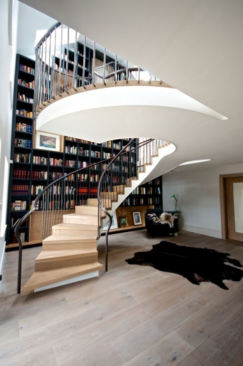 Innovative Domestic Spiral Staircase Photo 745