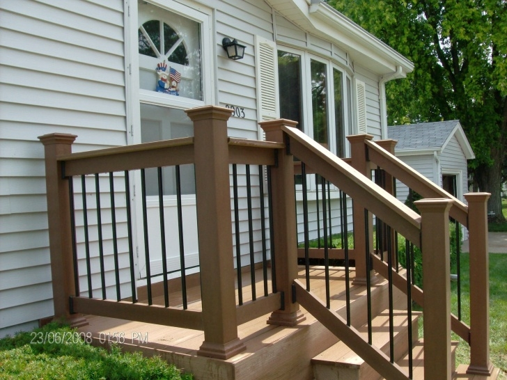 Innovative Exterior Wood Handrail Designs Photo 476