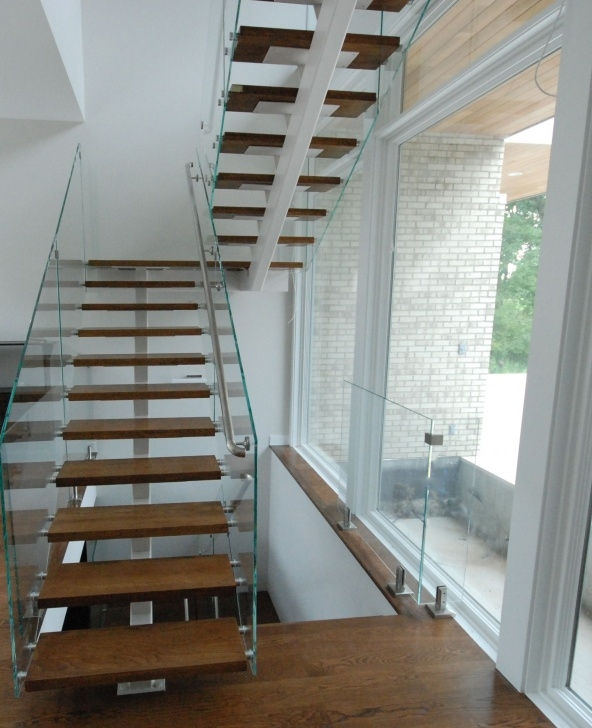 Innovative Floating Wood Stairs Image 042