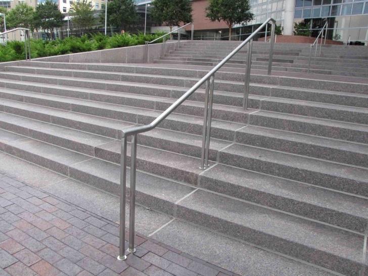 Innovative Metal Handrails For Outside Steps Image 996