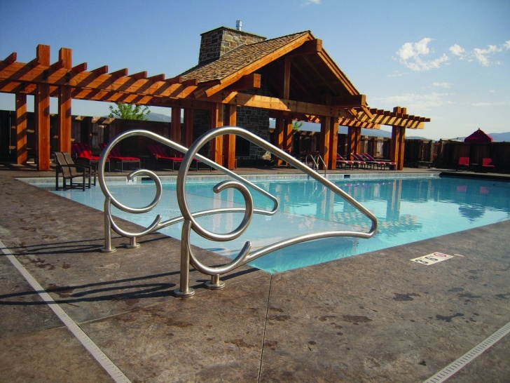 Innovative Pool Step Rails Picture 780