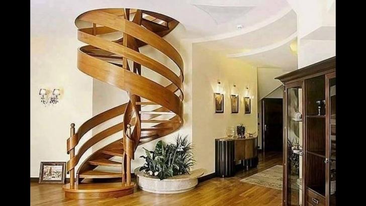 Innovative Round Staircase Designs Interior Photo 199