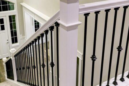 Stair Banister Rail