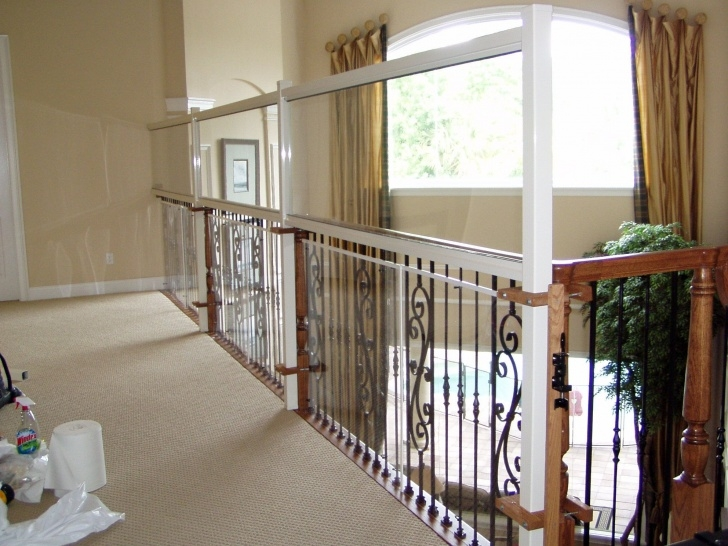 Innovative Stair Landing Railing Picture 767