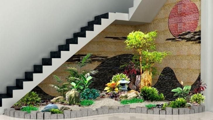 Innovative Under Stair Garden Design Image 365