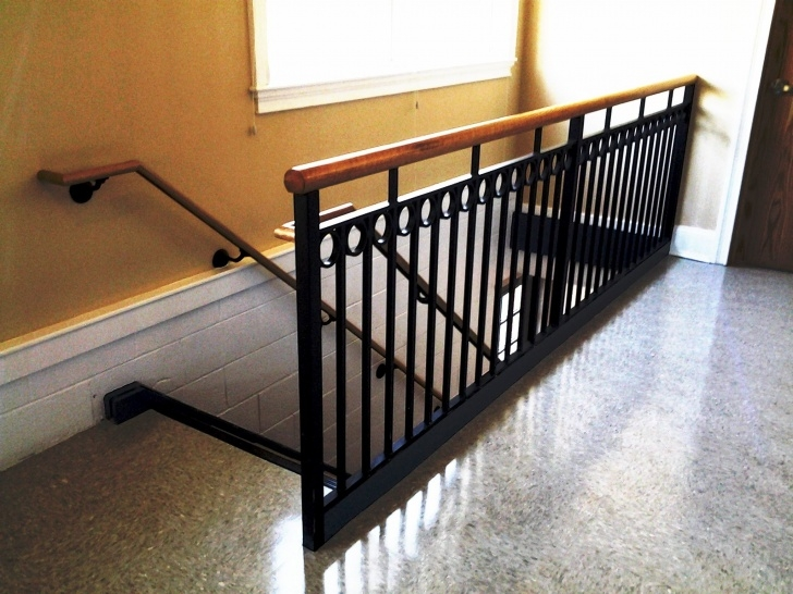Innovative Wrought Iron And Wood Railing Picture 107