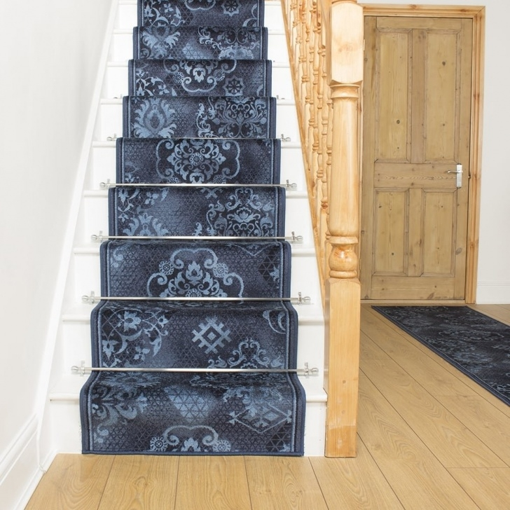 Insanely Blue Stair Runners Image 823