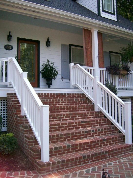 Insanely Brick Steps To Wood Porch Picture 394