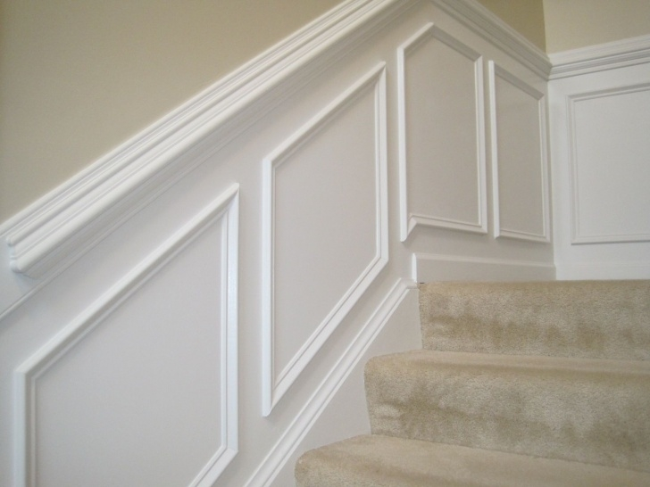 Insanely Chair Rail On Stairs Picture 729