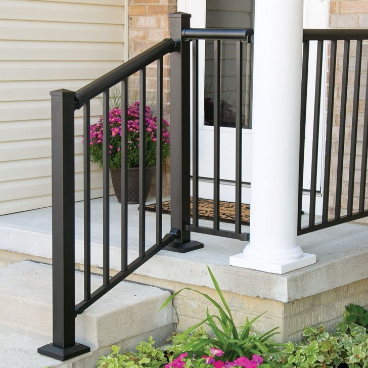 Insanely Handrails For Concrete Steps Lowes Picture 834